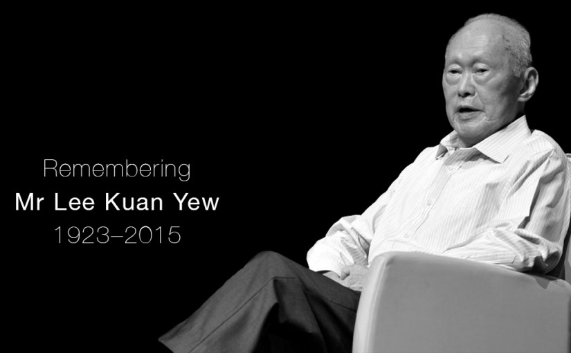 Rest well, Mr Lee Kuan Yew