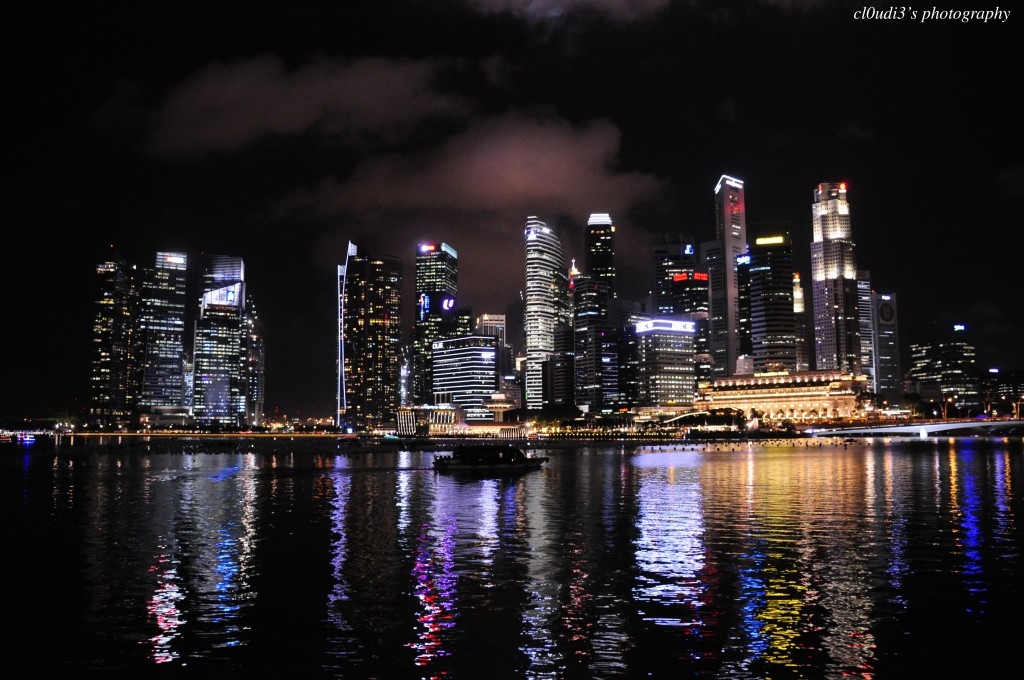 Night Landscape of Singapore